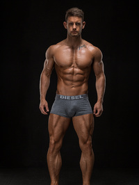 chris robinson fitness , model, london, england, united