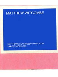 Matthew Witcombe