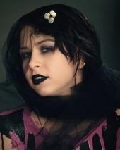 Punky Hair and Makeup