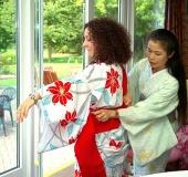 Kitsuke kimono dressing