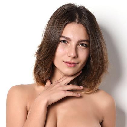 Nude with banana