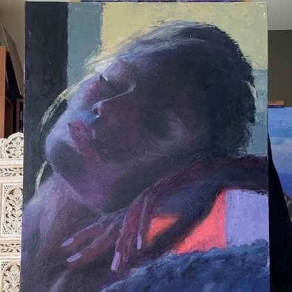 Artist Tedd Chilless