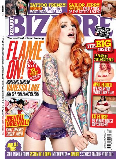Bizarre magazine, August 2012 - Vanessa Lake