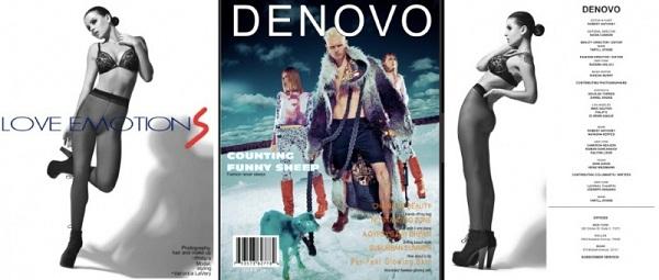 DENOVO magazine - Veronica LaVery