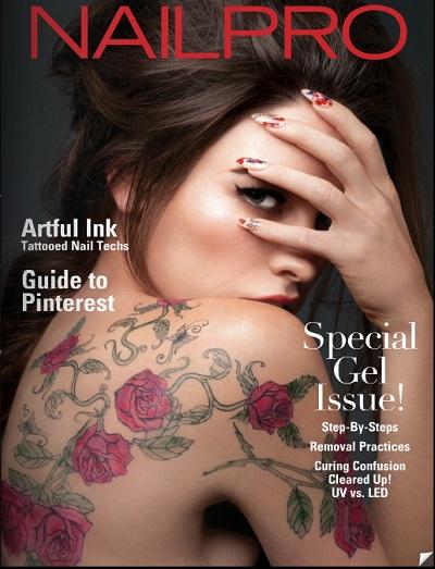 Lauren Calaway - Nailpro Magazine