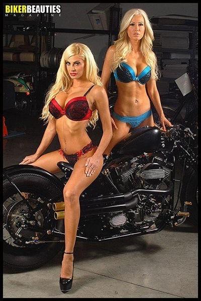Ana Braga & Skyler Haze - Biker Beauties Magazine
