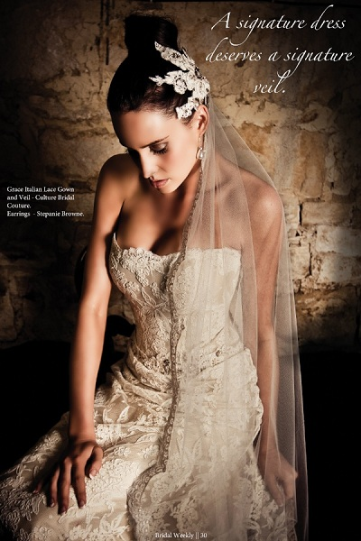 Lauren Vickers, Culture Shock Bridal Couture