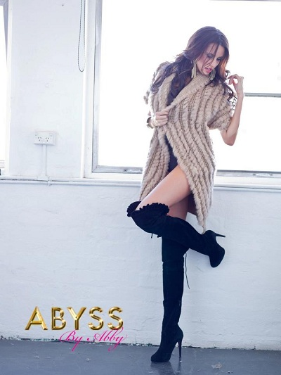 Lauren Vickers, Abyss campaign, Sydney, Australia