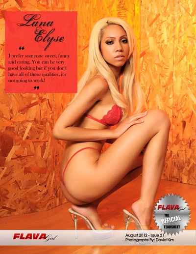 Tearsheet for Flava Girl Magazine