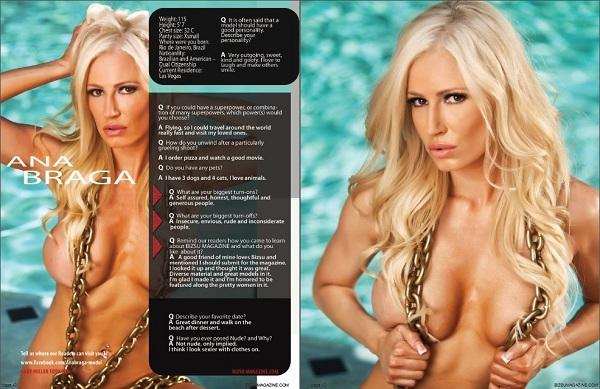 Ana Braga, Bizsu magazine