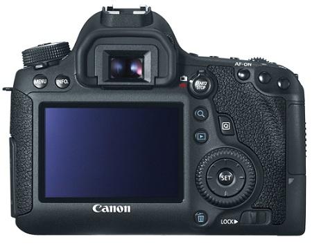 Canon EOS 6D back