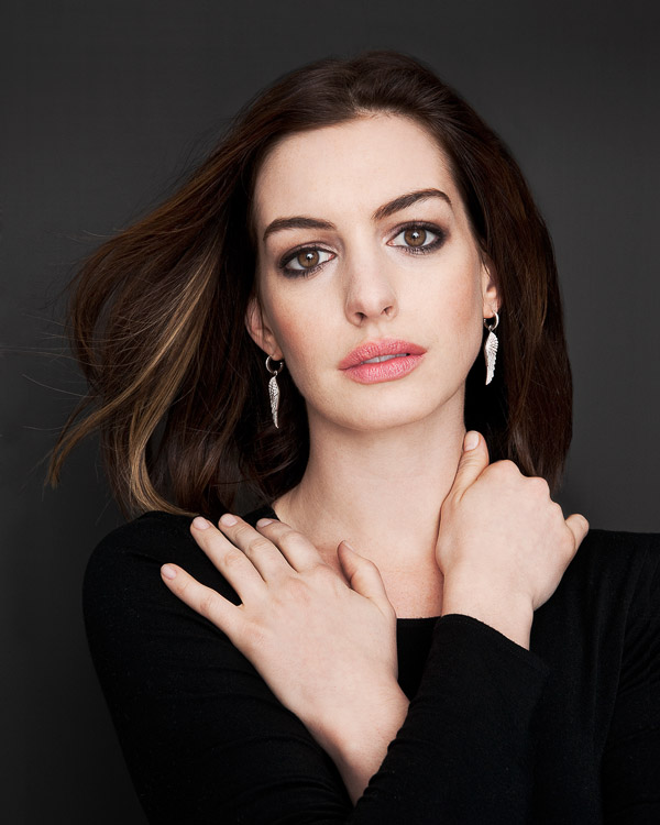 Anne Hathaway, photographed by Brian Smith in New York for Art & Soul