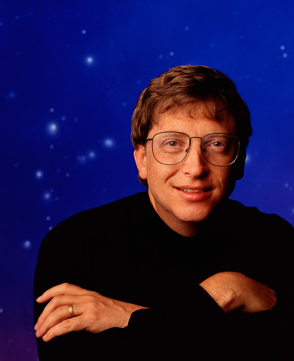 Bill Gates, photographed by Brian Smith in Atlanta for Business Week