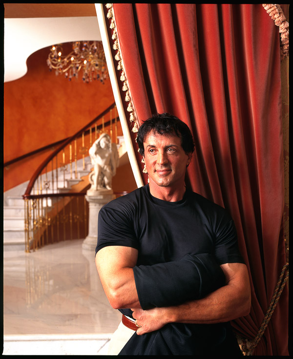 Sylvester Stallone, photographed by Brian Smith in Miami for The New York Times