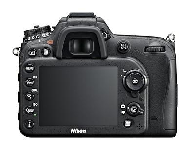 Nikon D7100 back