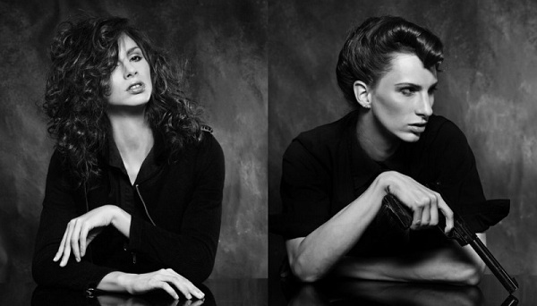 Androgyny - model: Van Burnham, photographer: Phillip Ritchie