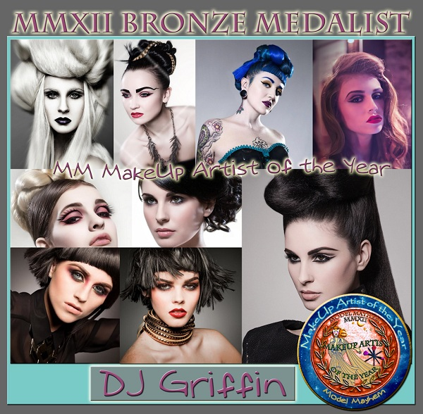 Model Mayhem Makeup Artists of the Year: DJ Griffin