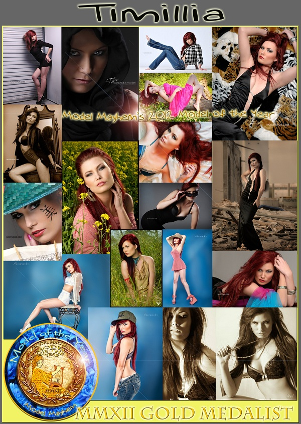 Model Mayhem 2012 Model of the Year: Timillia