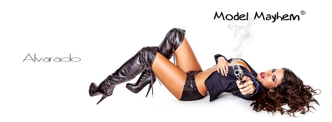 Model Mayhem cover photo, June 2013 - Robert Alvarado, Italia Kash