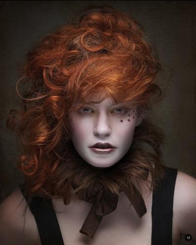 Model: Sierra McKenzie; Photographer: ByteStudio Makeup Artist: BKaye MUA; Clothing Designer: Helene Hawthorne