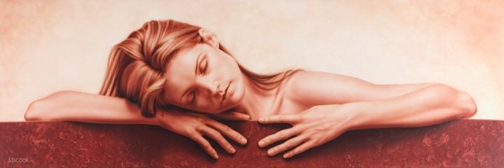 Apr 08, 2005 © A.D. Cook 2004 Solstice - Original painting on canvas - 24 x 72