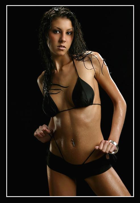 Apr 09, 2005 Ray Sopczuk Black Swimwear - Wet Look