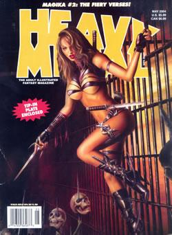 Apr 10, 2005 Lorenzo Sperlonga Cover Heavy Metal Magazine