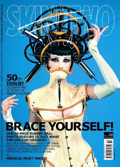 Apr 12, 2005 2004 Nadya Lev and Skin Two Magazine Skin Two Magazine Issue No. 50 Cover Tearsheet. Photographed by Nadya Lev.  Wardrobe by H-W Design and House of Whacks.  Head Art by Feisty Diva for Peacock Blue Design Studio (www.peacock-blue.com).  Styling and makeup by Feisty Diva