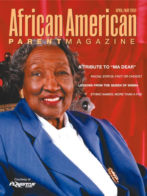 Apr 13, 2005 2000 Gordon Alexander African American Parent Magazine