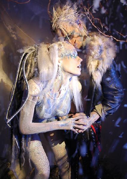 Apr 13, 2005 Dan Santoni the Snow Queen, with model Perish