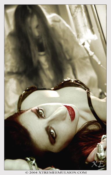 Female model photo shoot of DyvoraDarkthorn