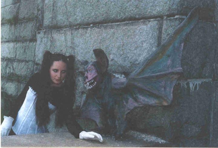 Male model photo shoot of scream queens