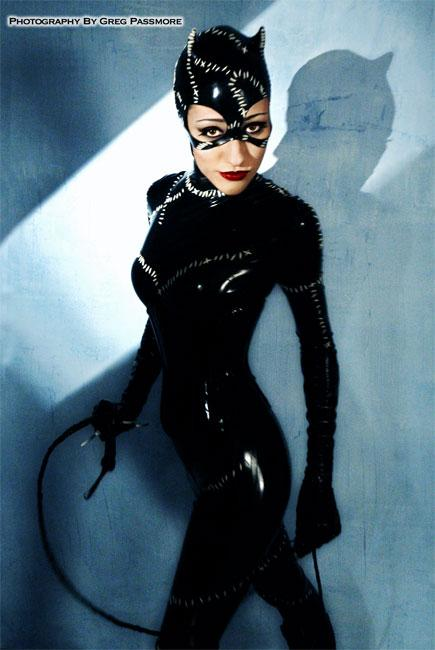 San Diego, CA Apr 27, 2005 Greg Passmore Latex CATWOMAN costume I made for Comic Con 2004