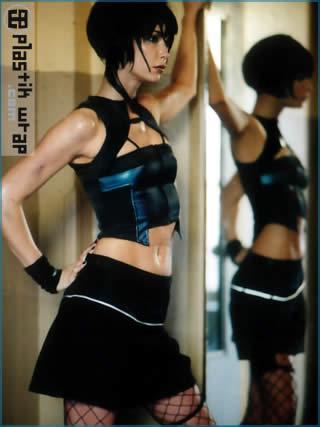 Apr 30, 2005 Plastik Wrap cyber industrial fashion