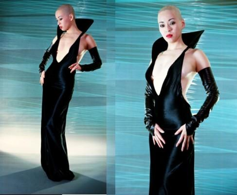 May 16, 2005 Narcisse Designs/Marcus Caruso Countess Dress for Narcisse Designs Model: Kumi