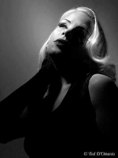 Female model photo shoot of Sparkly Devil