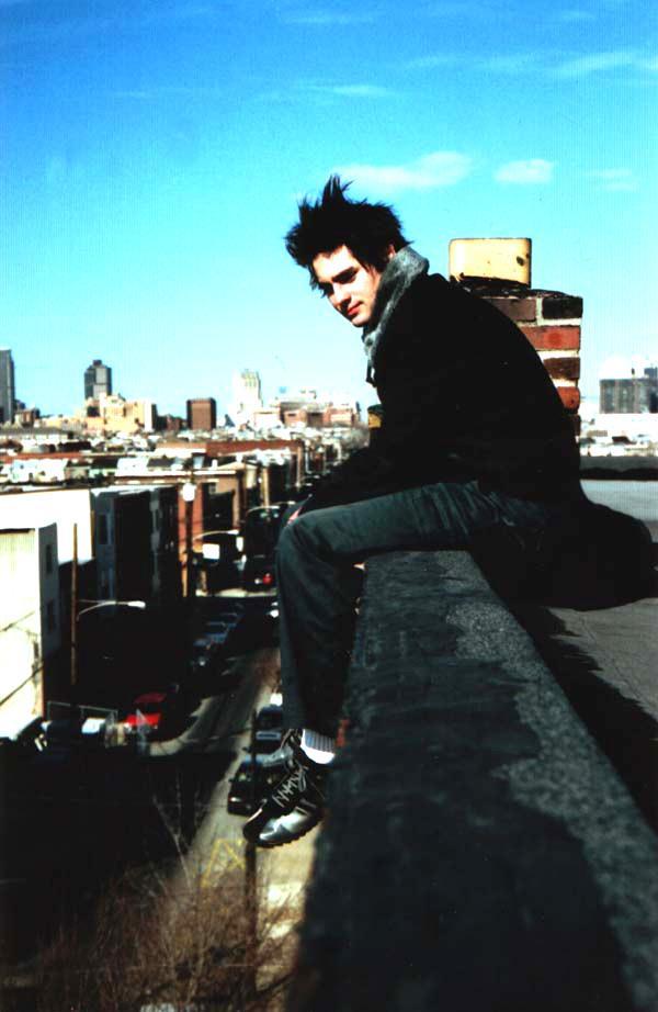 Philadelphia Jun 17, 2005 Dana Vanguilder nFactorial promo shoot (my electro band) circa 04