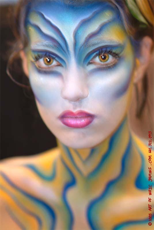 Pasadena Make-up Mag Show Jul 04, 2005 2004 Eric James International Make-Up Artist Trade Show