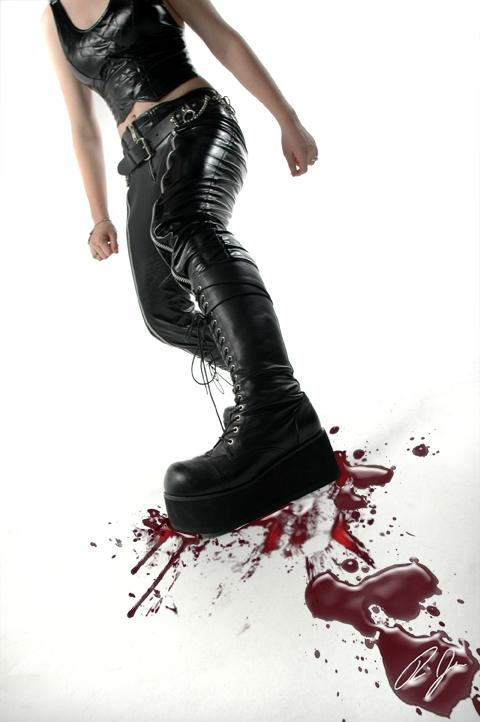 Female model photo shoot of Alexie Star