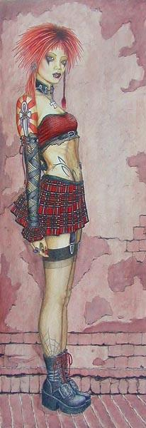 Aug 07, 2005 Dark Mannequin Designs This is one of my paintings. It is called Asian Plaid. I love fashion and style designing:)