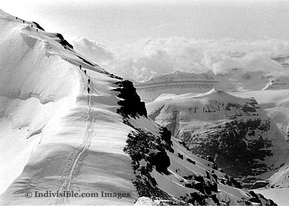 Male model photo shoot of Indivisible Images in Glacier Climb