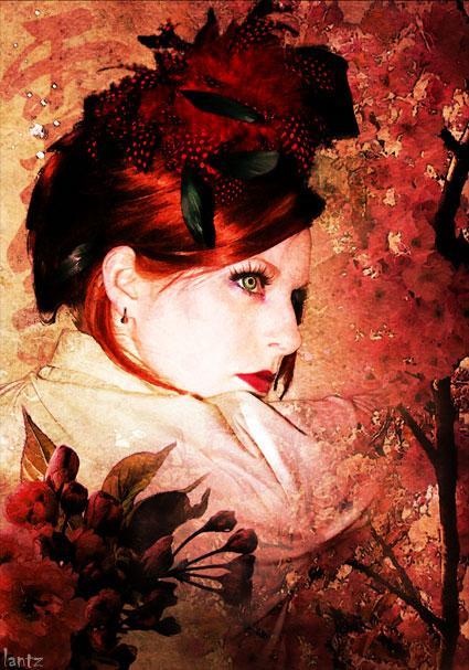 Aug 27, 2005 www.Stygiandarkness.com Cherry Blossom by Tim Lantz