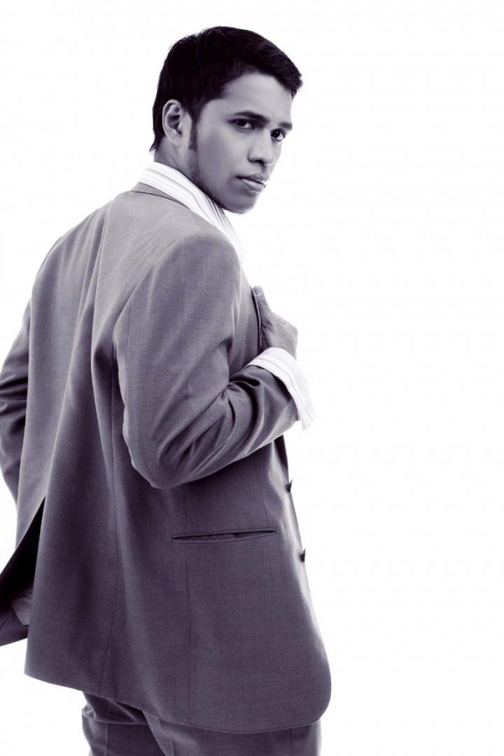 Male model photo shoot of -ARt- in Gloss, Jakarta