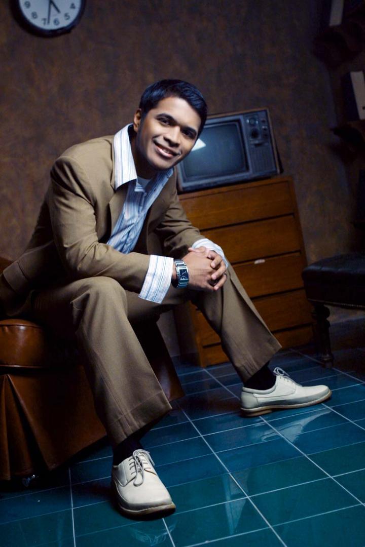 Male model photo shoot of -ARt- in Gloss studio, Jakarta