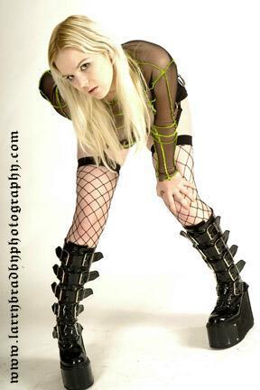 Female model photo shoot of Stembot by Larry Bradby