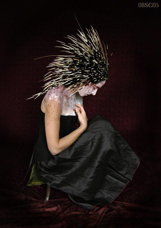 Brooklyn, NY Sep 05, 2005 symon chow porcupine