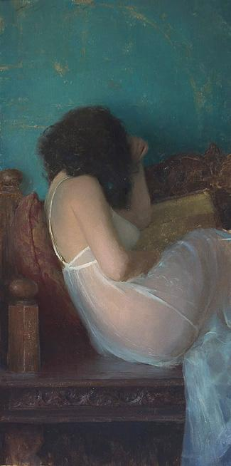Sep 19, 2005 Jeremy Lipking Diaphanous Gown
