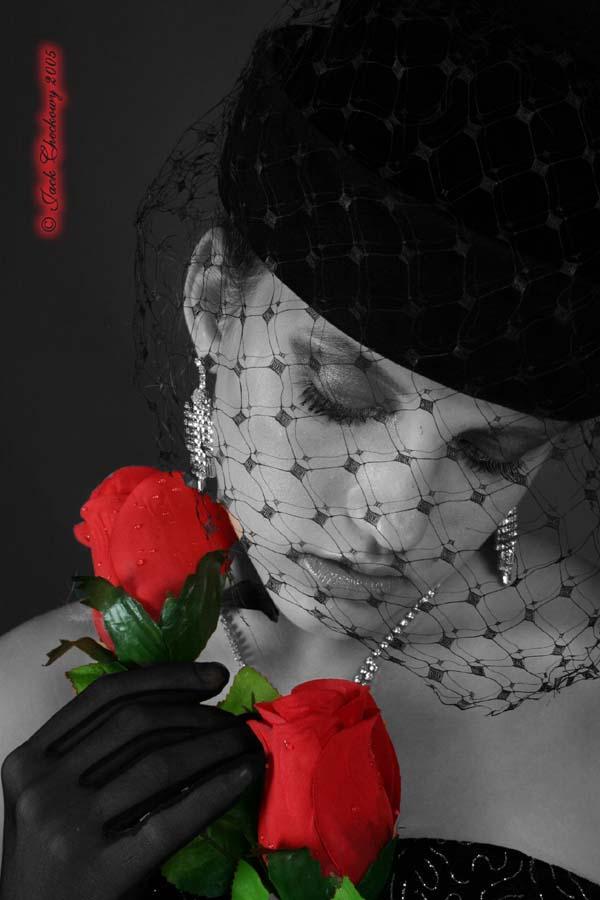 Ottawa Studio Sep 25, 2005 Jack Checkowy Red Rose 2 - Model Ashley. Scorpio