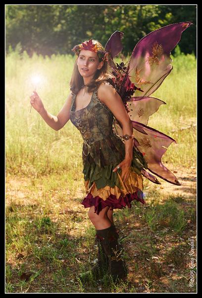 Atlanta, GA - the woods Sep 30, 2005 Greg Kendall Fairy Costume