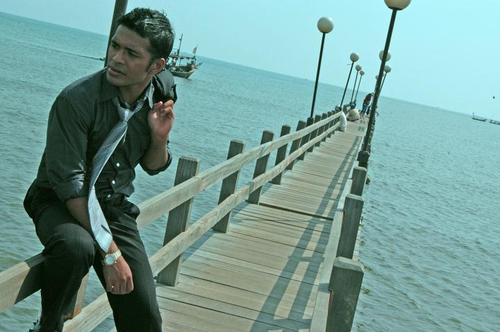 Male model photo shoot of -ARt- in Marina, Jakarta